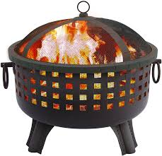 Firepit And Grill by Backyard Fire Pits Porch Swings And Barbecue Grills Gardensall