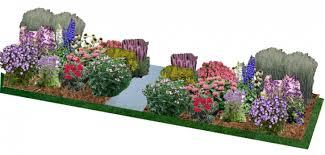 perennial garden design plans hawe park