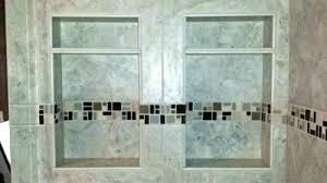 bathroom shower niche ideas subway tile niche bathroom niche ideas tile shower niche two subway
