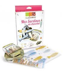 kit de cuisine enfant kit mes sardines en chocolat kit pâtisserie enfant scrapcooking