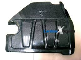 nissan 350z engine cover carbonxstudio