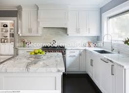 white kitchen cabinets with marble counters white shaker kitchen cabinet marble counter top view marble top decormore product details from guangzhou nuolande import and export co ltd on
