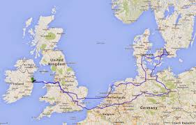 Google Maps France by Careful With That Axe Eugene Nine Country Summer Holiday