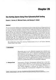 sorting using flow cytometry cell sorting pdf download