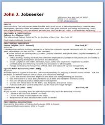 Hospital Housekeeping Resume Sample by Personal Chef Cover Letter