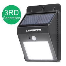 self contained motion detector light outdoor solar led lighting outdoor designs