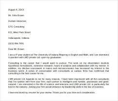 recruitment consultant cover letter trainee recruitment