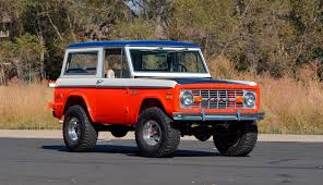 ford bronco concept 1971 ford bronco stroppe baja edition is retro delight sharp