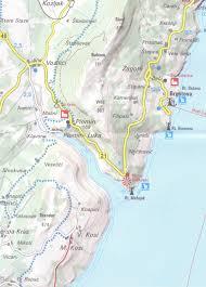 Nhl Map Istria Croatia Hiking U0026 Cycling Map 1 75 000 Kompass 238