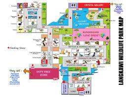 Zoo Floor Plan Zoos Langkawi Zoo