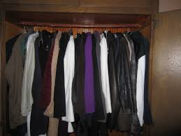 my coat closet is stuffed with really good coats organizing