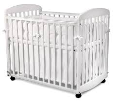 Mini Crib With Wheels Fascinating Wicker Baby Cribs With Wheels Pictures Inspiration