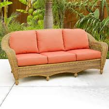 living room rattan love seat and wicker sofa