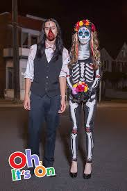 unique couples costumes take on fright in style with