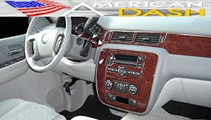 Chevy Tahoe 2014 Interior Chevrolet Chevy Tahoe Interior Wood Dash Trim Kit Set 2010 2011
