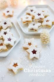 linzer christmas cookies a cookie swap freutcake