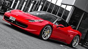 red ferrari red ferrari 458 italia black top 1920x1080 full hd 16 9