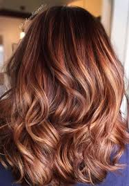 best summer highlights for auburn hair 40 fresh trendy ideas for copper hair color auburn balayage