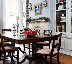kitchen table centerpiece ideas farm table and white chairs