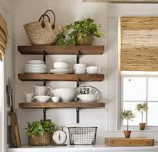 kitchenshelves com get this look open kitchen shelves
