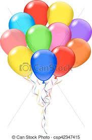 bunch of balloons vector transparent balloons bunch balloon s opacity is vector