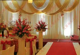 Curtains For Wedding Backdrop 3x6m White And Gold Wedding Backdrop Drapes For Wedding Curtains