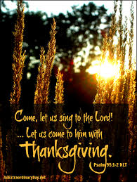 day 7 days of thanksgiving let s come to him with