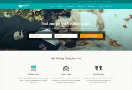 wedding vendor websites 60 best directory themes 2017