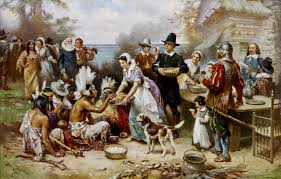 a colonial thanksgiving how does thanksgiving translate from