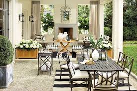 outdoor decor outdoor decor black white and rad all over elements of style blog