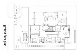 Two Bedroom Floor Plans Fascinating Ghana House Floor Plans Modern House Two Bedroom House