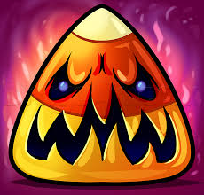 how to draw a halloween candy corn step by step halloween