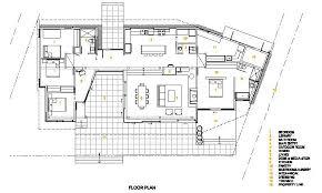 modern cabin floor plans modern vacation home plans home plan