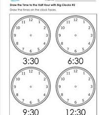 telling time worksheets and crafts analog and digital clocks