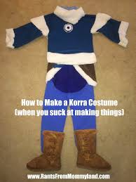 Halloween Shirt Costumes Rants From Mommyland How To Make A Legend Of Korra Costume When