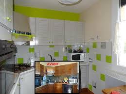 cuisine gris et vert cuisine gris et 4 galerie photos stickers carrelage adr