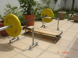 Bench Press Safety Stands Homemade Squat Safety Stands Crazy Homemade
