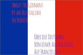 Frenxh Flag In French Auf Franzoesisch U2013 Liv Hambrett