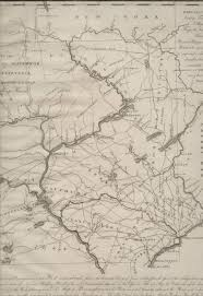 Map Of The Erie Canal 1790 To 94 Pennsylvania Maps