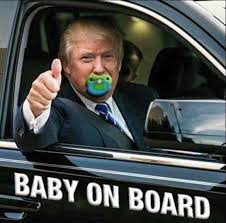 Baby On Board Meme - this has got to be the most thin skinned presidential candidate to