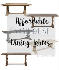 Affordable Furniture Source by The Best Places To Buy Affordable Farmhouse Tables Dear Owen