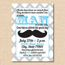 mustache and bow tie baby shower mustache baby shower invitation templates best sle greeting