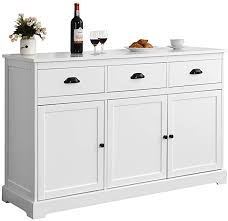 gremlin wheeled kitchen storage sideboard buffet cabinet white wood giantex sideboard buffet server storage cabinet console table home kitchen dining room furniture entryway cupboard with 2 cabinets and 3 drawers