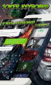thema apk joker keyboard theme apk free personalization app for