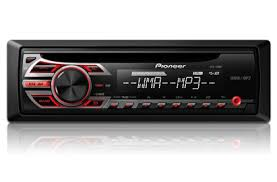deh 150mp cd receiver with mp3 playback and front aux in
