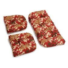 Outdoor High Back Chair Cushions Clearance Beautiful Outdoor Bench Cushions Clearance With Floral Pattern