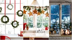 Christmas Decoration Ideas For Your Home 30 Insanely Beautiful Last Minute Christmas Windows Decorating