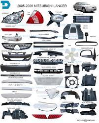 mitsubishi lancer cedia 2001 mitsubishi lancer evo headlight taillamp and body parts 8330a109