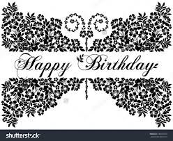card invitation design ideas black and white birthday cards