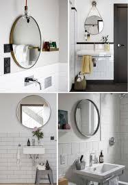 ideas round bathroom mirrors with regard to finest easy bathroom
